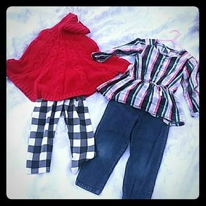 Two 4T Outfits girls